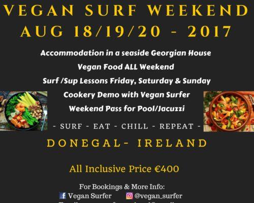 Vegan Surf Weekend Ireland