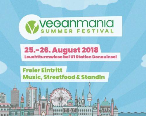 Veganmania Donauinsel 2018 Vienna, Austria
