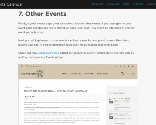 Featured In 'The Anatomy Of An Awesome Event Page' Article