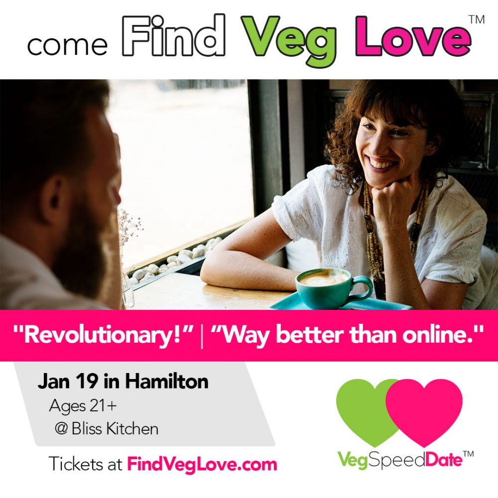 veganske hastighed dating toronto overvægtige fyr datering