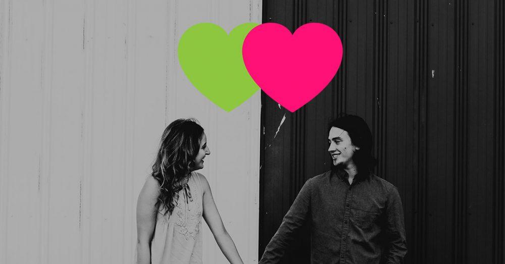 Gut aussehende Verlierer-Dating-Show