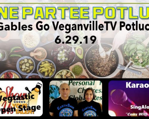 Go VeganvilleTV Partee Potluck – Florida, United States