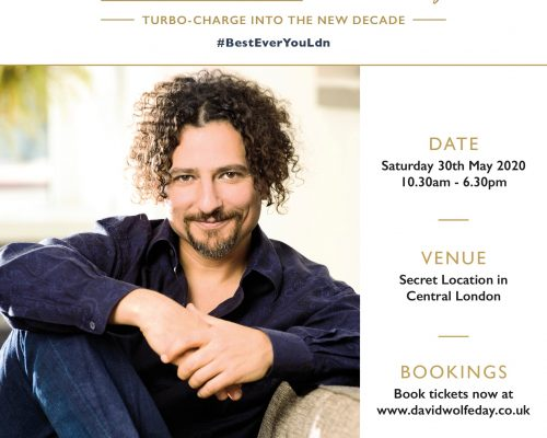 The Best Ever You with David Wolfe 2020 – Full Day Masterclass, London