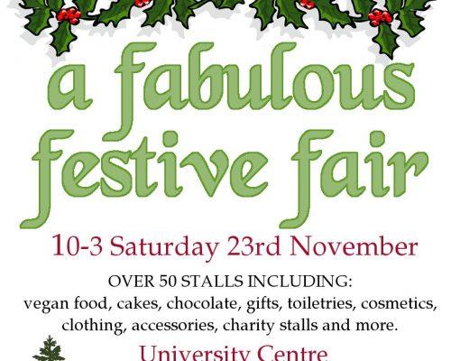 A Fabulous Festive Fair – Shrewsbury, England