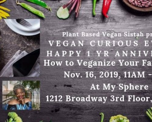 Vegan Curious – Veganizing Made Simple – San Francisco